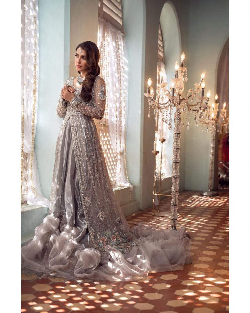 Ayeza Khan Looking Like A Dream In Her Recent Bridal Shoot