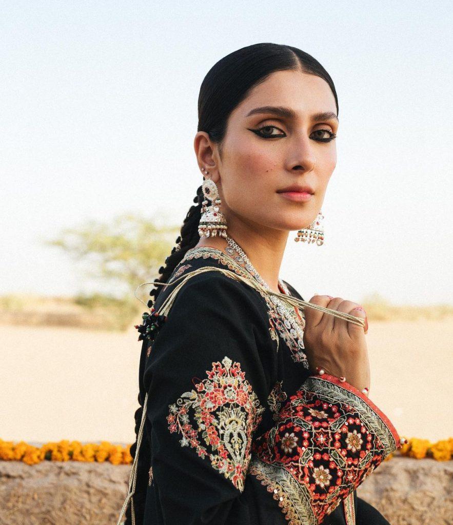 Ayeza Khan Featured In Hussain Rehar's Lawn Campaign