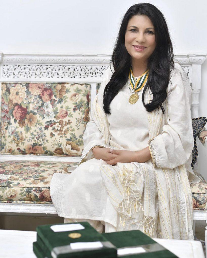 Sakina Sammo Shared Her Thoughts On Resham And Ali Zafar's Civil Award