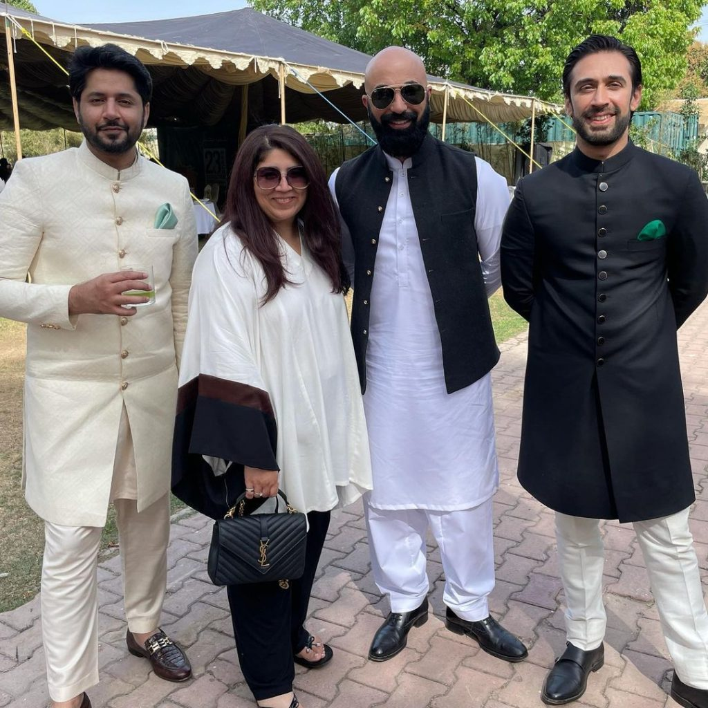 Celebrities Spotted At Pakistan's Day Parade