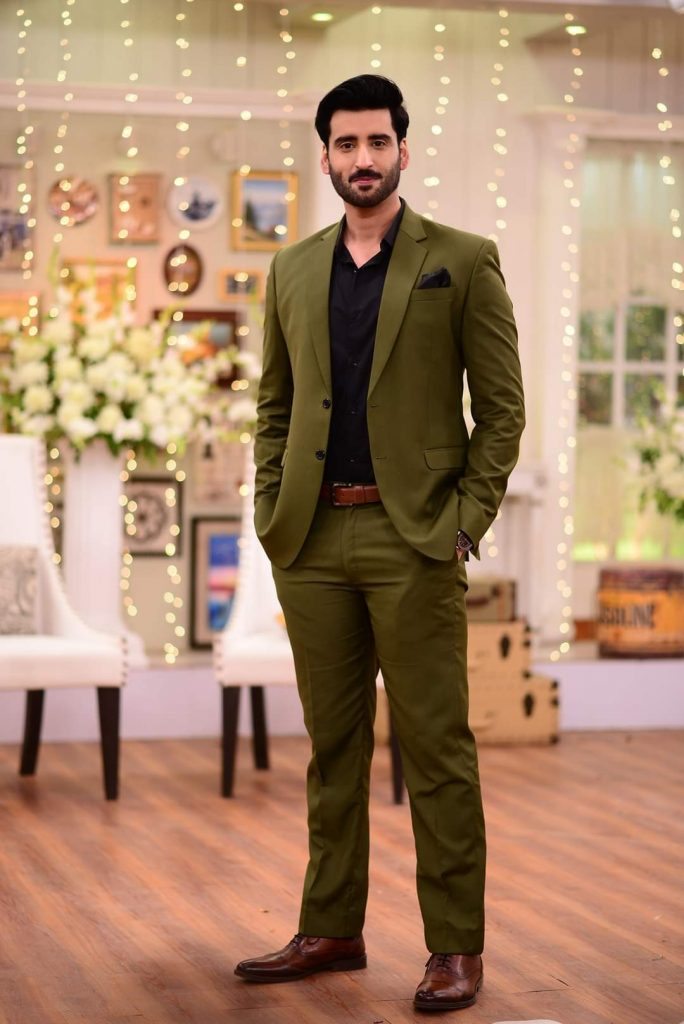 Agha Ali Talks About Parenthood in Good Morning Pakistan