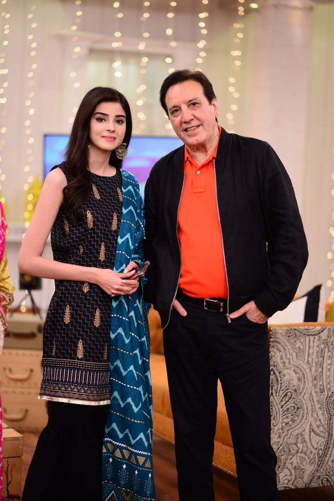 Zainab Shabbir and Usama Khan Pictures from Good Morning Pakistan