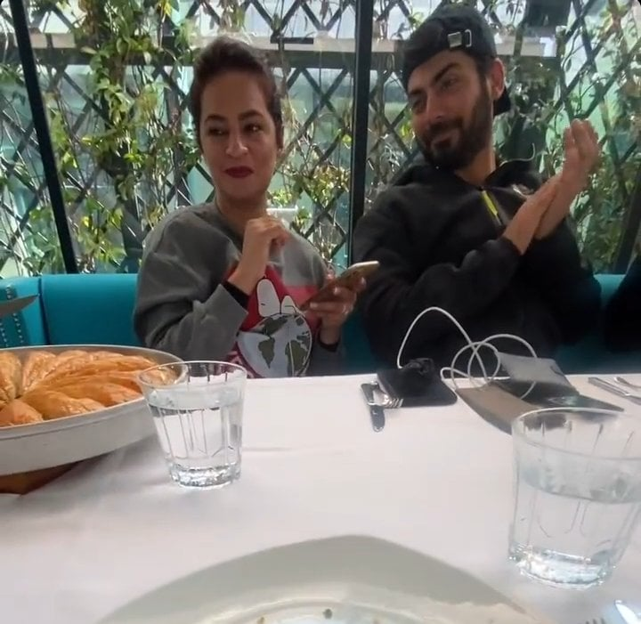 Fawad And Sadaf In Turkey With friends