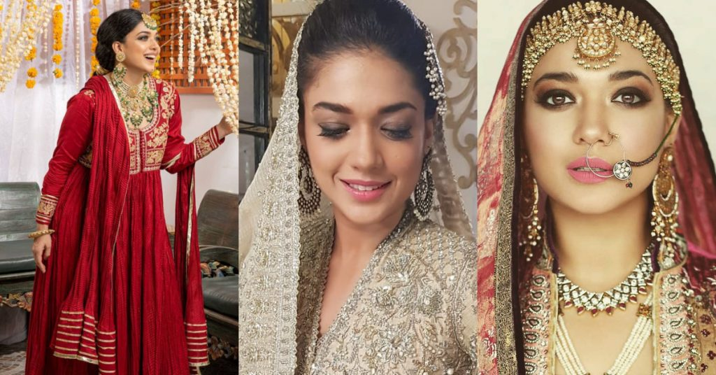 Latest Photos of Sanam Jung in Bridal Wears