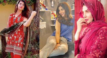 Areeba Habib Three Beautiful Looks