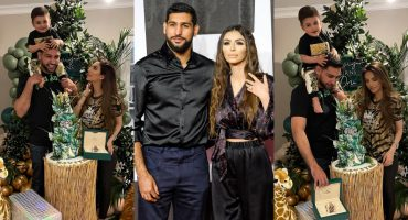 Amir Khan with Faryal Celebrated Their Son Zaviyar First Birthday