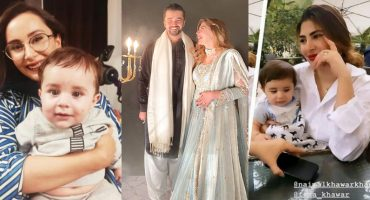 Hamza And Naimal Son Mustafa Abbasi Pictures