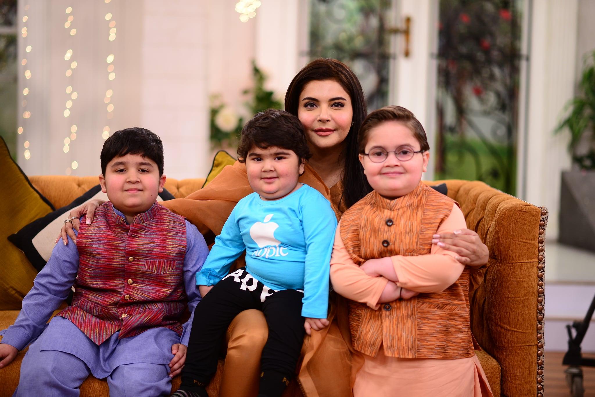News Anchor Kiran, Danish Nawaz, Samra and Ahmed Shah in GMP