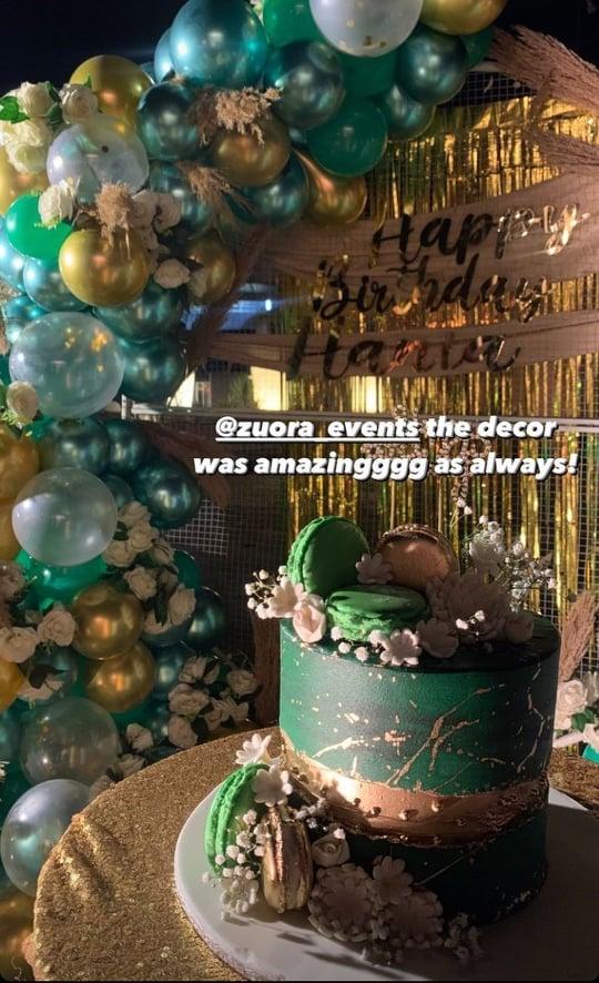 Hania Amir's Post Birthday Surprise