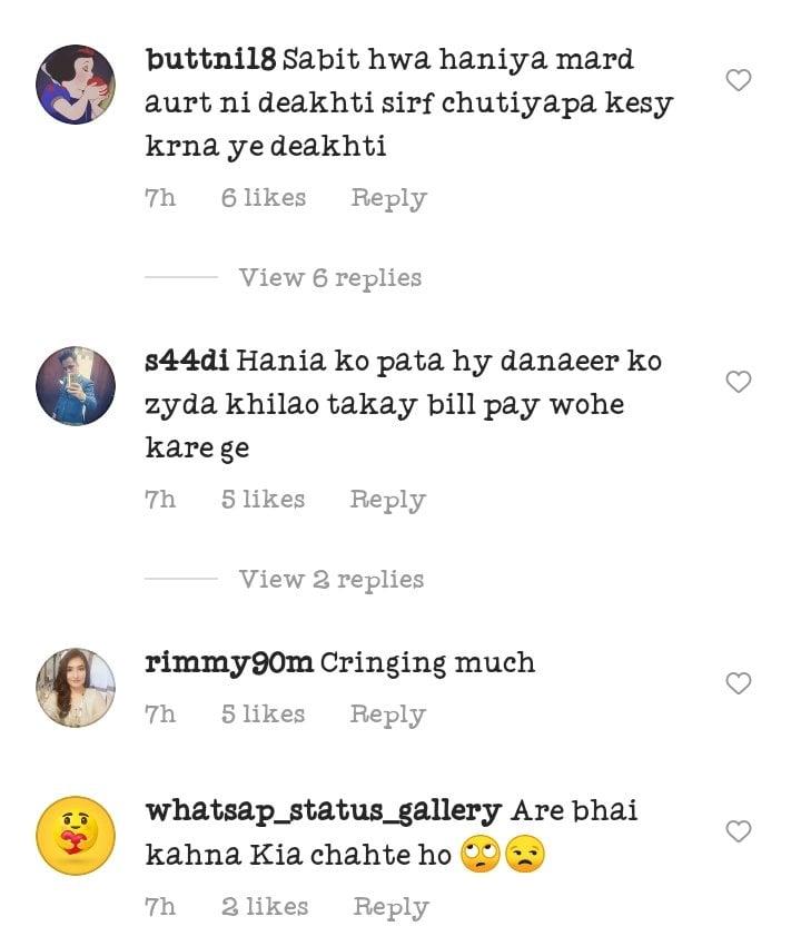 Public Criticism On Hania Aamir Force Feeding Dananeer Mobeen