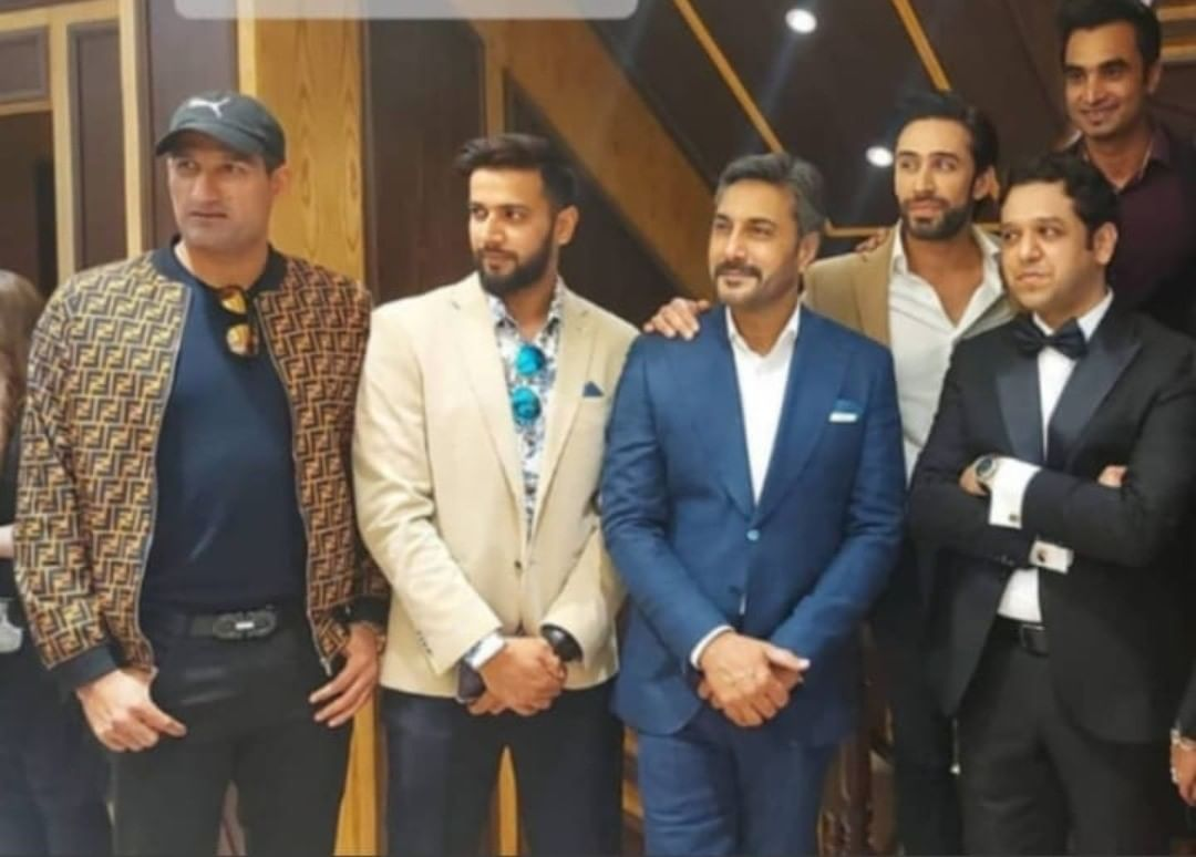 Celebrities Spotted at a Hanif Jewellers Store Launch in Islamabad