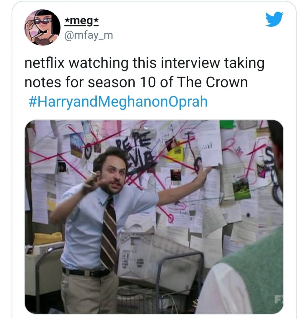 Social Media is Streaming With Memes After Meghan Markle's Recent Interview