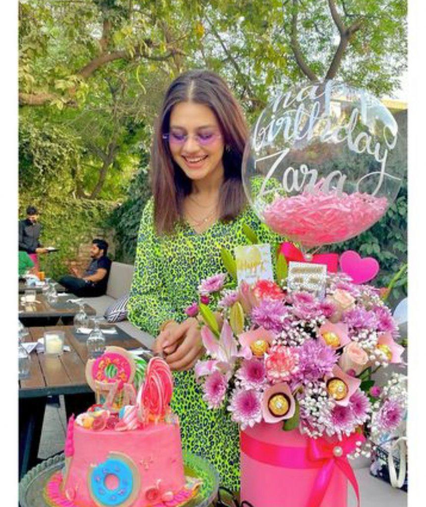Zara Noor Abbas Celebrates Her Birthday