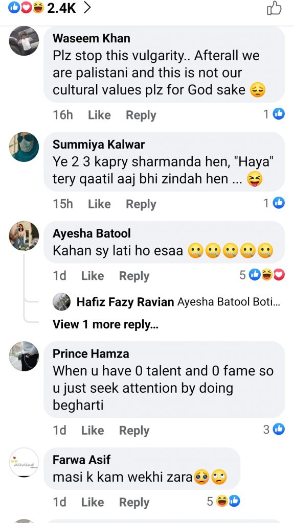 Netizens Not So Happy With Anmol Baloch 's Recent Pictures