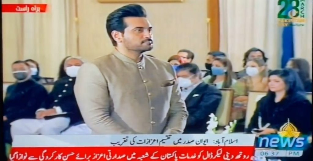 Humayun Saeed Has Been Awarded With Pride of Performance