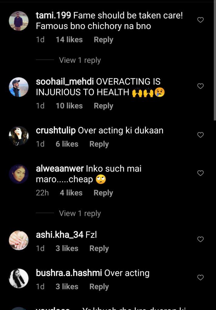 Public Criticism on Dananeer And Momin Saqib Viral Video