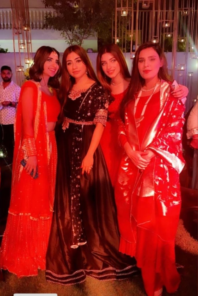Celebrities Spotted At Umair Qazi's Sangeet