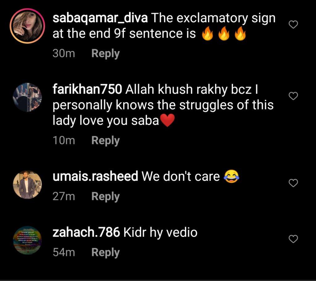 Public Criticism on Saba Qamar 's Husband To Be Azeem Khan