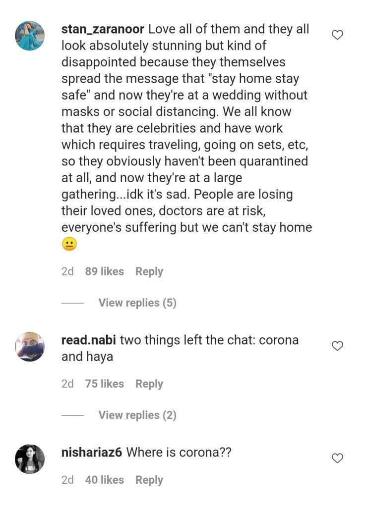 Netizens Call Out Celebrities On Violating Corona SOP's