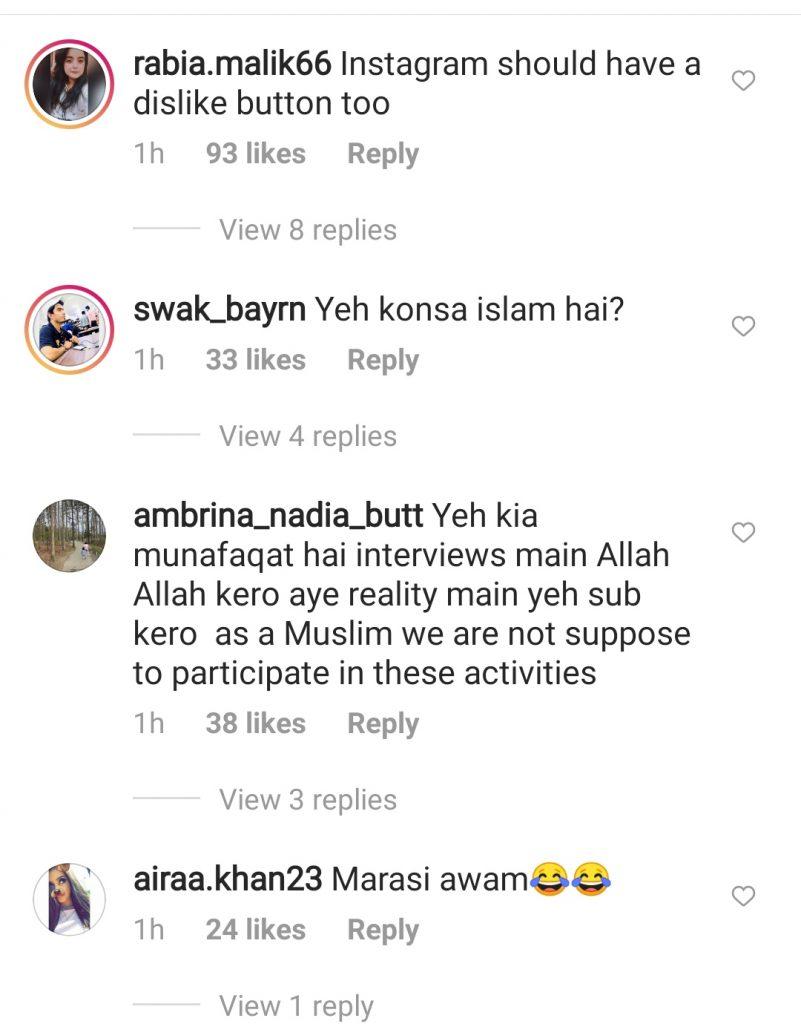 Public Doesn't Like Hira and Mani 's Holi Celebrations