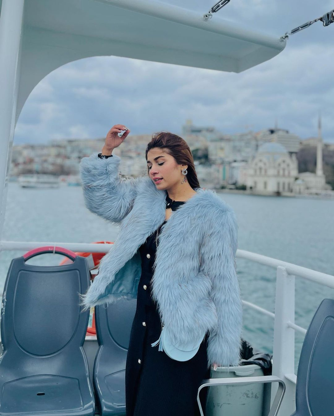 Actress Mahi Baloch Latest Beautiful Pictures from Istanbul Turkey