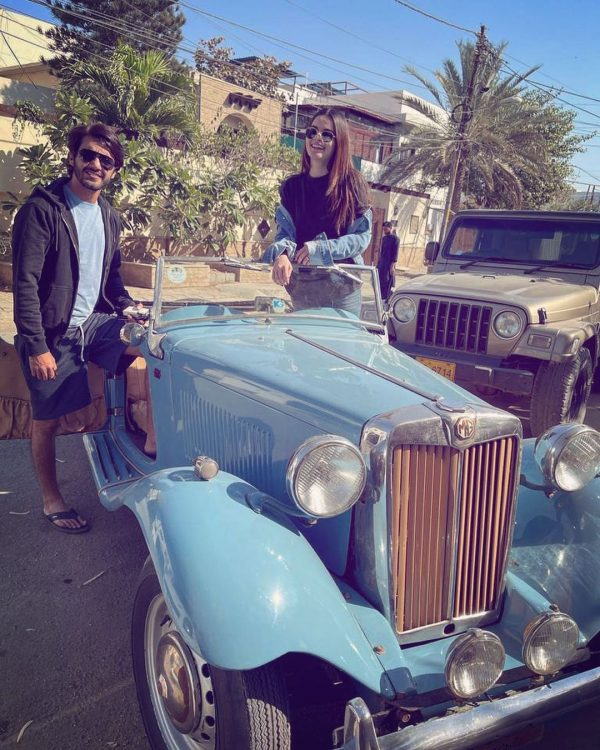 Minal And Ahsan Spent Their Sunday On A Fun Ride