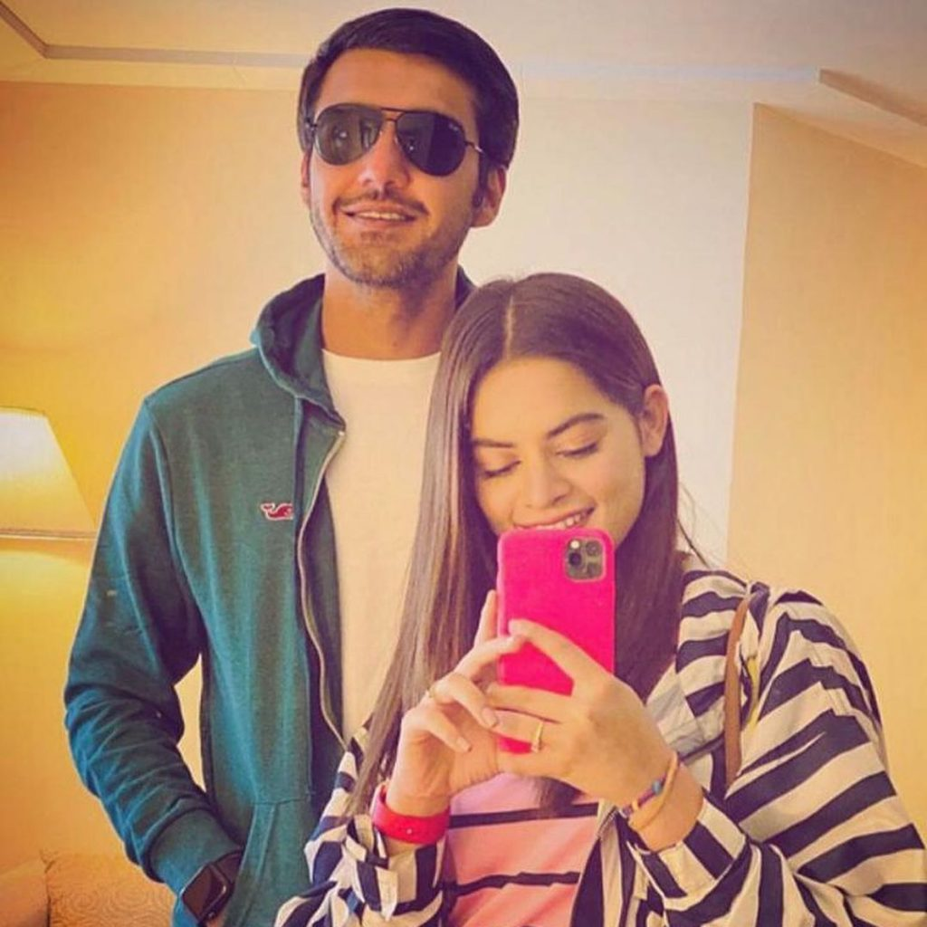Minal Khan And Ahsan Mohsin Ikram Receive Hate Over Their Recent Video