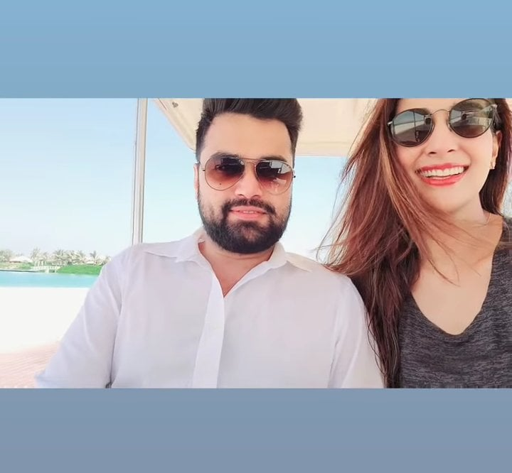 Rabab Hashim's Latest Pictures With Her Husband