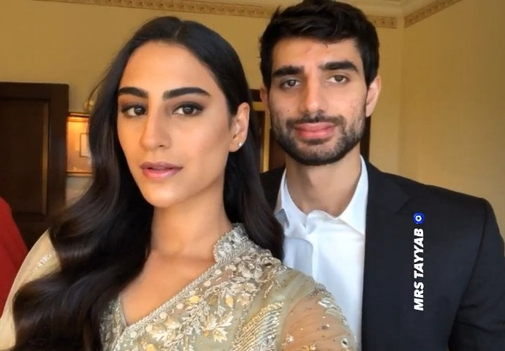Reception Pictures Of Model And Actress Rehmat Ajmal
