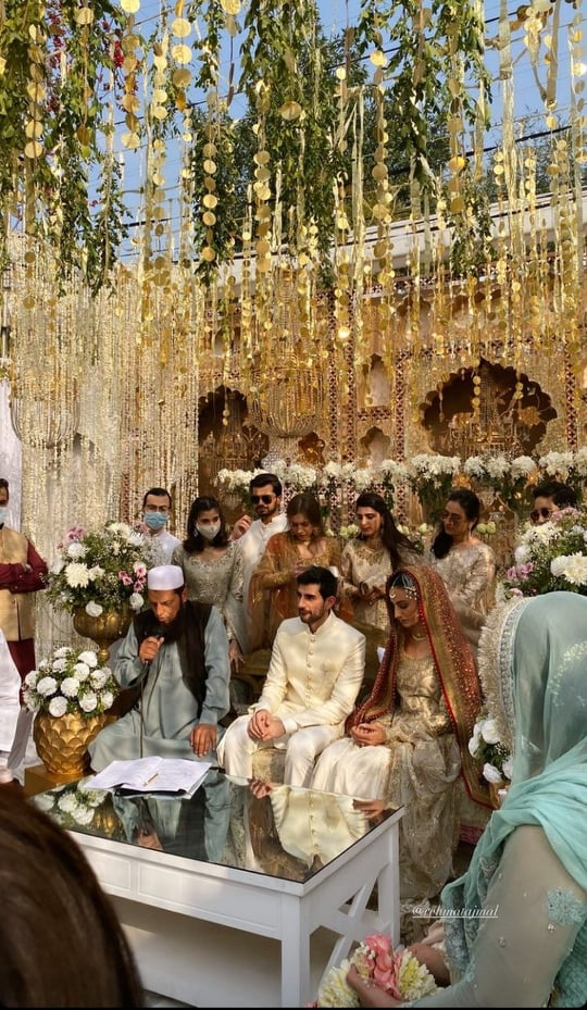 Fashion Model Rehmat Ajmal Tied the Knot