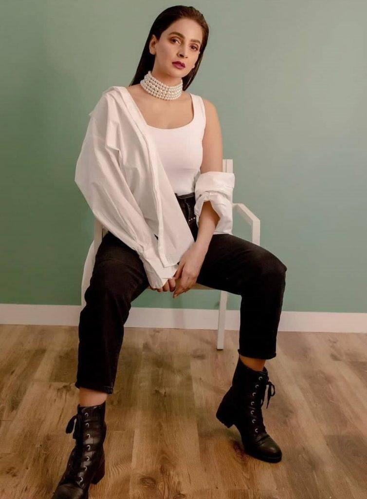 Saba Qamar's New Look Bringing In A Lot Of Backlash