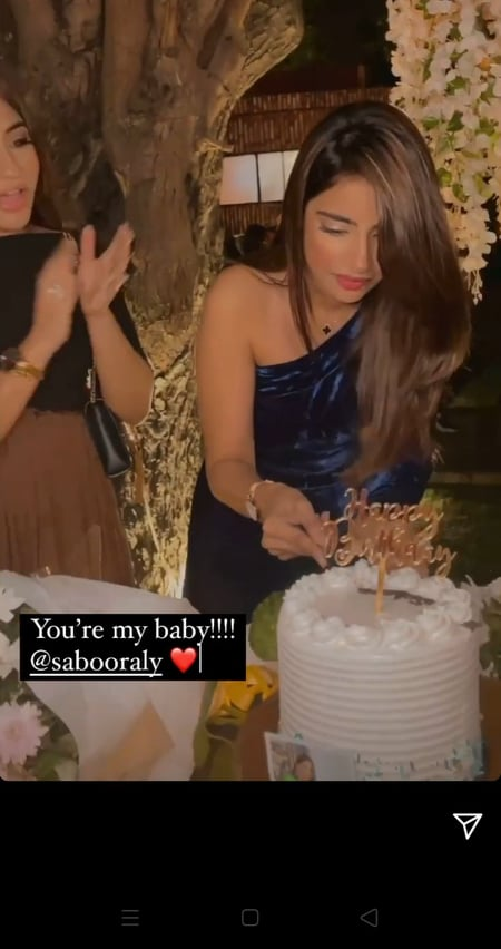Saboor Aly's Birthday Bash
