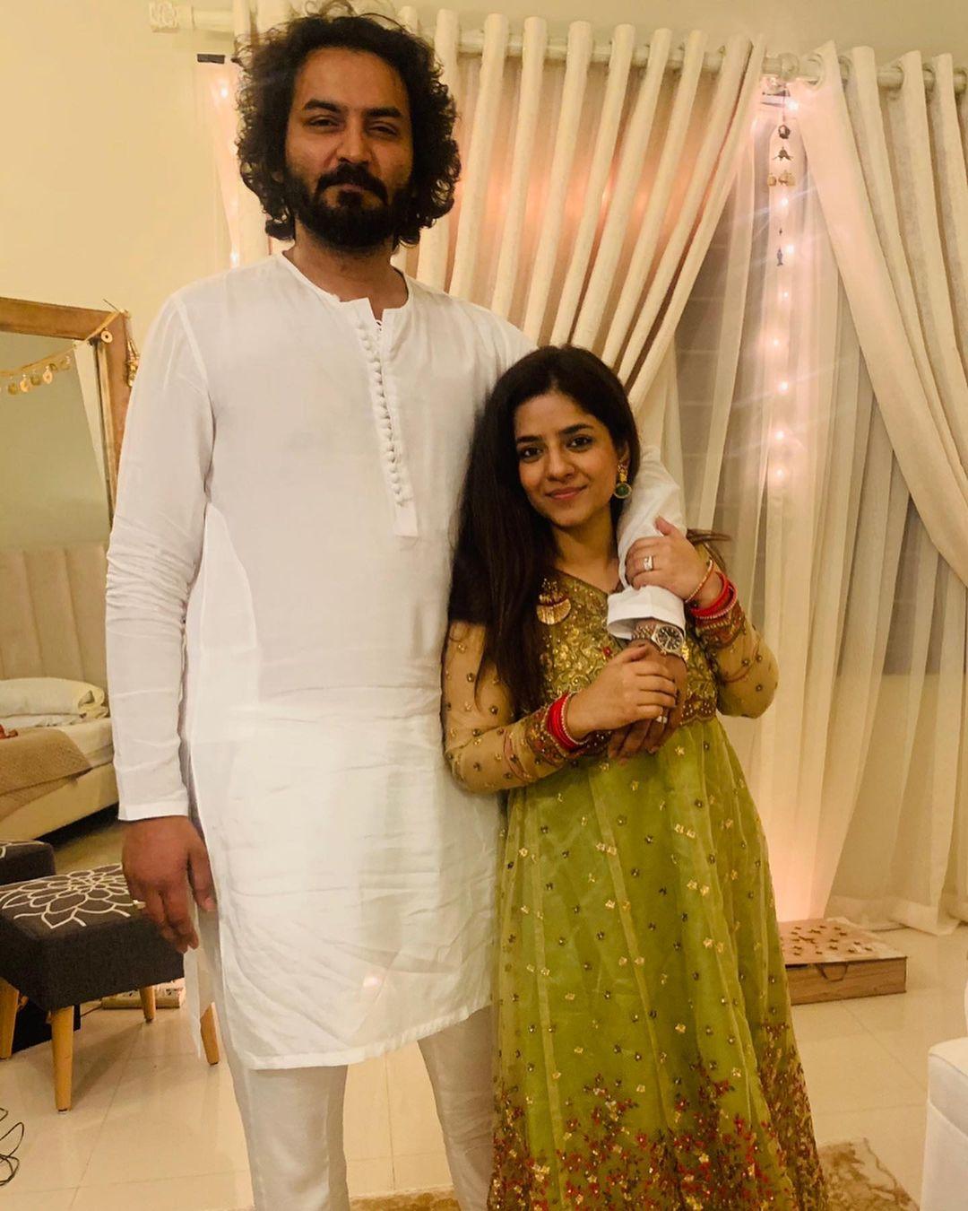 Newly Wed Couple Sadia Jabbar and Qasim Ali Mureed with Friends