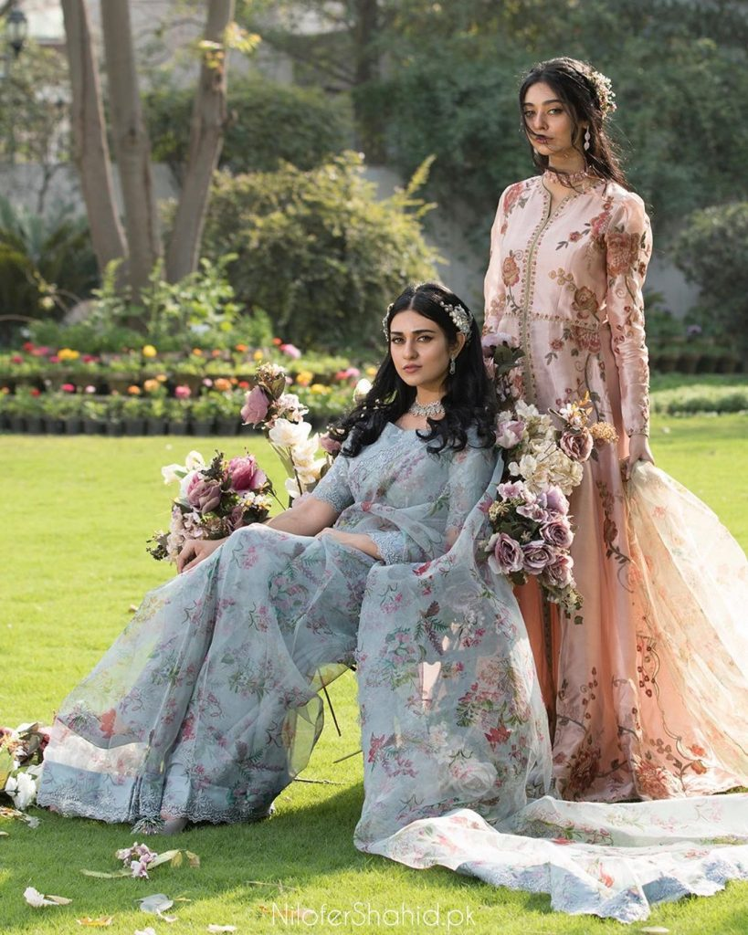 Sarah And Noor Zafar Khan Featured In A Shoot Together