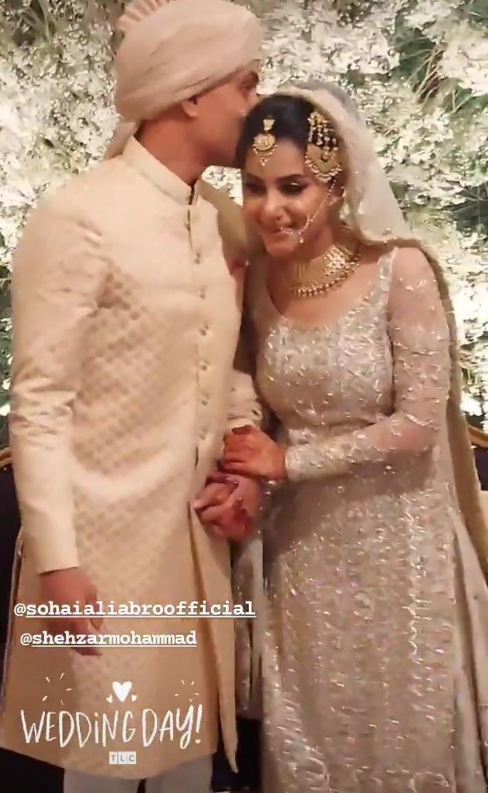 Sohai Ali Abro Wedding Pictures and Video
