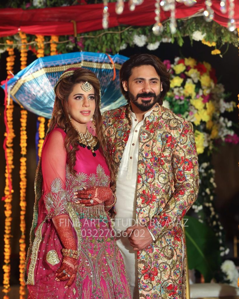 Wali Hamid Khan- Exclusive Mehndi Pictures