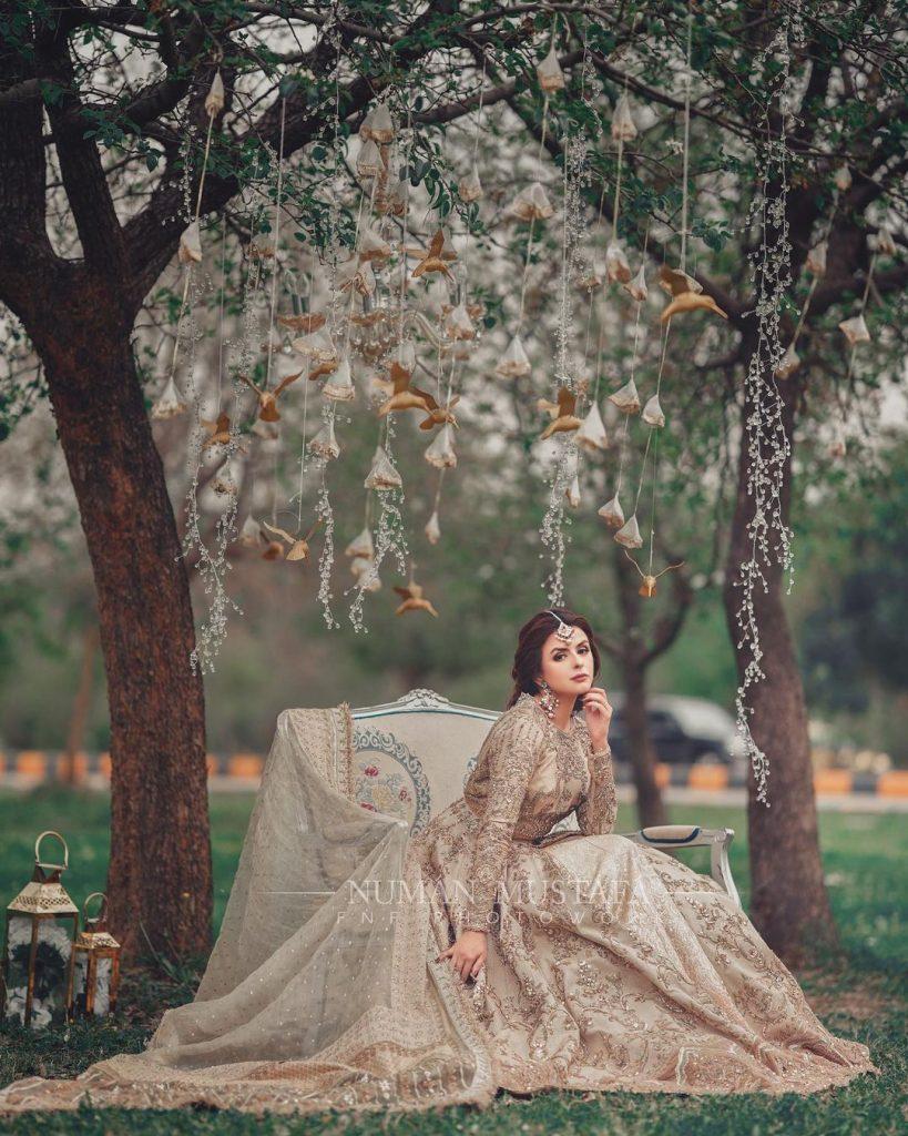 Waliya Najib Looks Ethereal In Her Latest Bridal Shoot