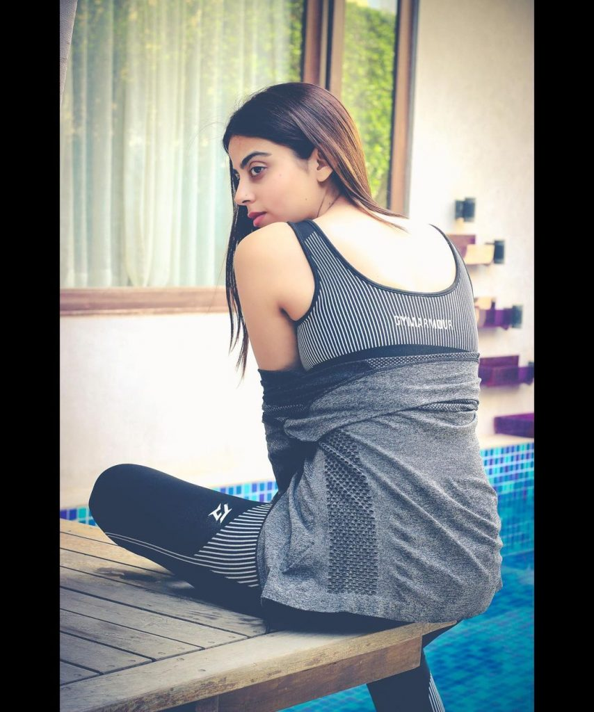 Yashma Gill Keeping Her Gym Looks Chic And Comfy