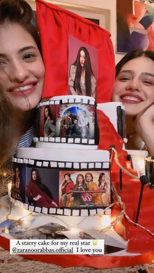 Zara Noor Abbas Gets A Wonderful Pre-Birthday Surprise