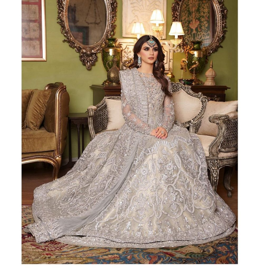 Zubab Rana Looking Ethereal In Her Recent Bridal Shoot