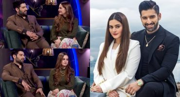 Aiman Khan And Muneeb Butt Talked About Their Businesses
