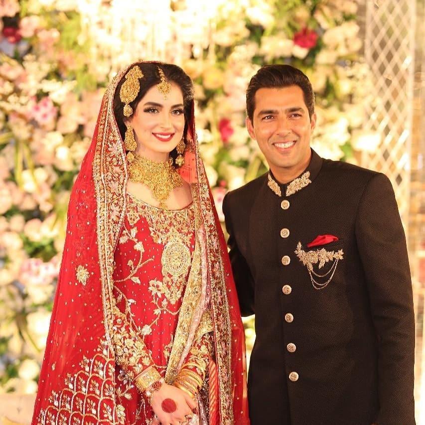 Aisam-ul-Haq Celebrates His First Wedding Anniversary