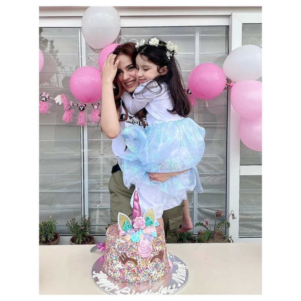 Alyzeh Gabol Shares Throwback Birthday Pictures With Her Daughter