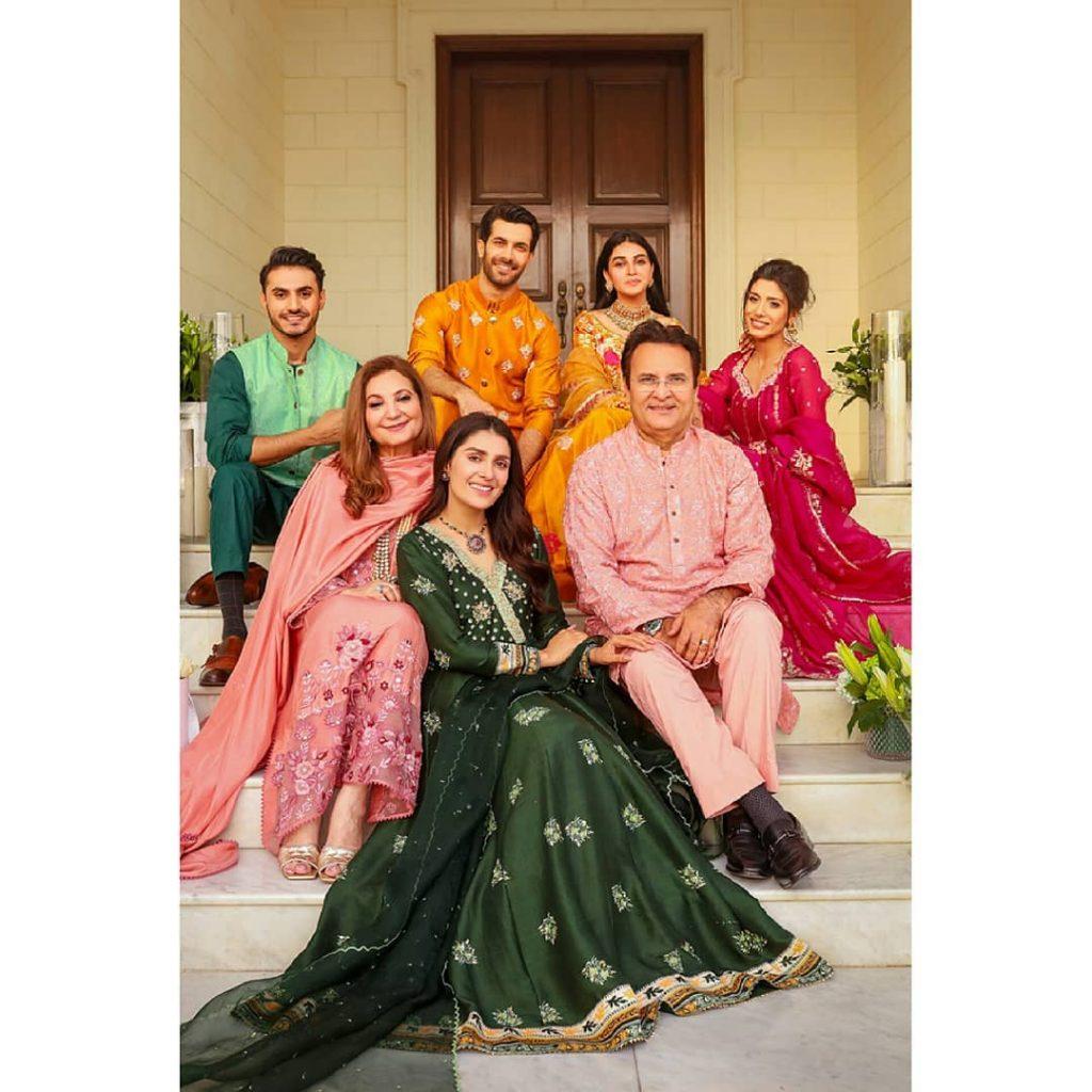 Ansab Jahangir's Latest Star Studded Photoshoot