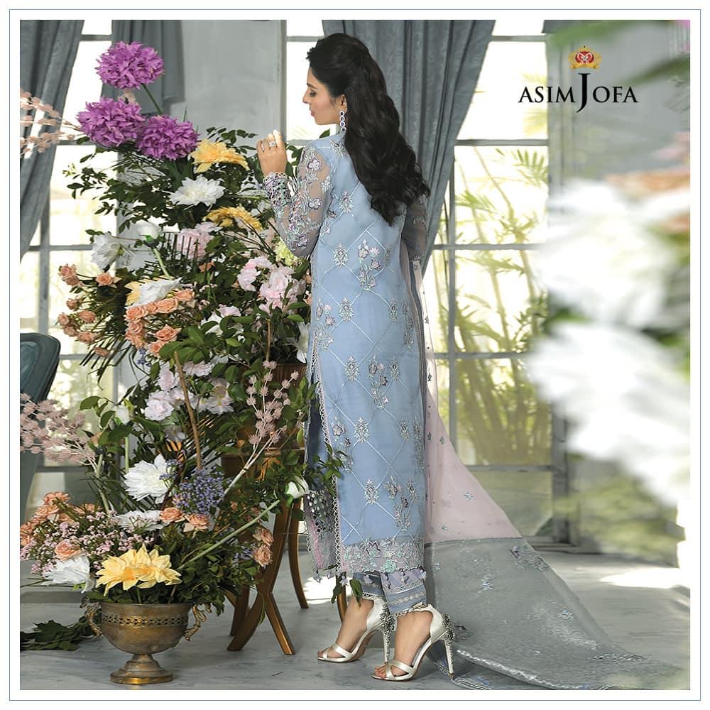 Asim Jofa's Latest Festive Collection Featuring Ayeza Khan