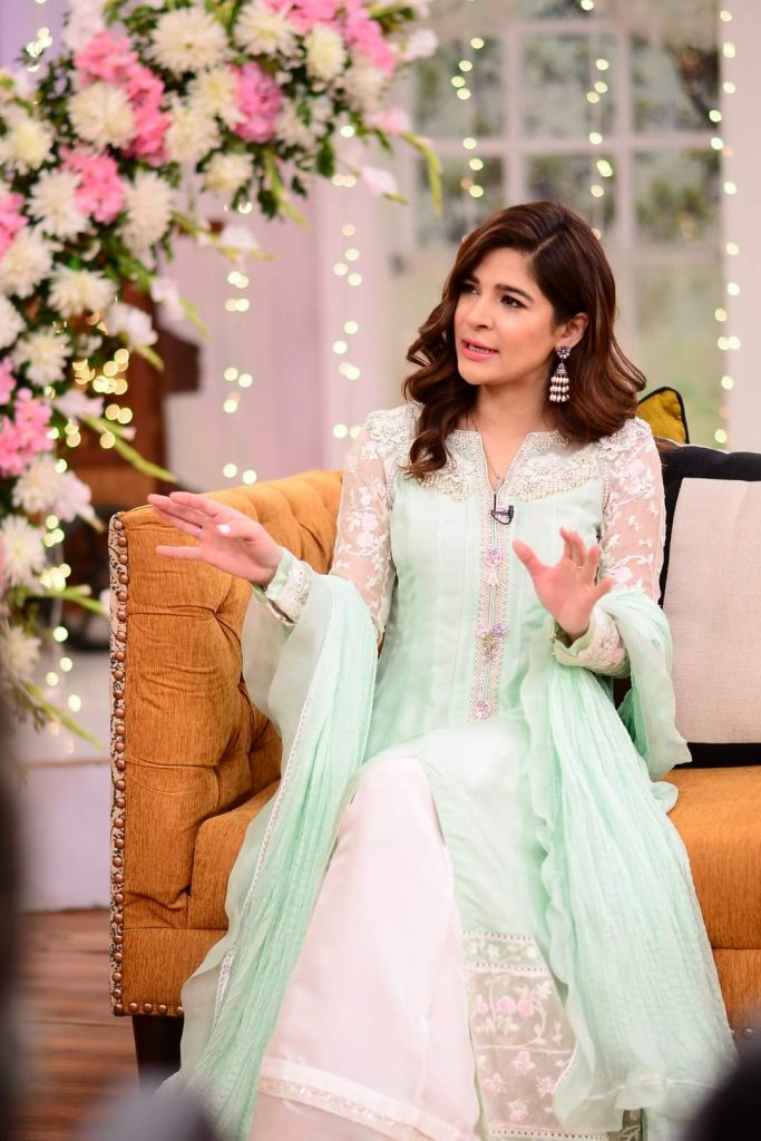 Ayesha Omar Beautiful Pictures From Good Morning Pakistan