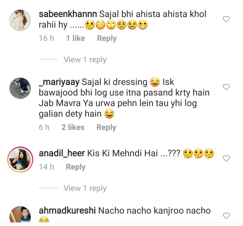 Sajal Aly Under Severe Criticism For Her Dressing At Recent Function