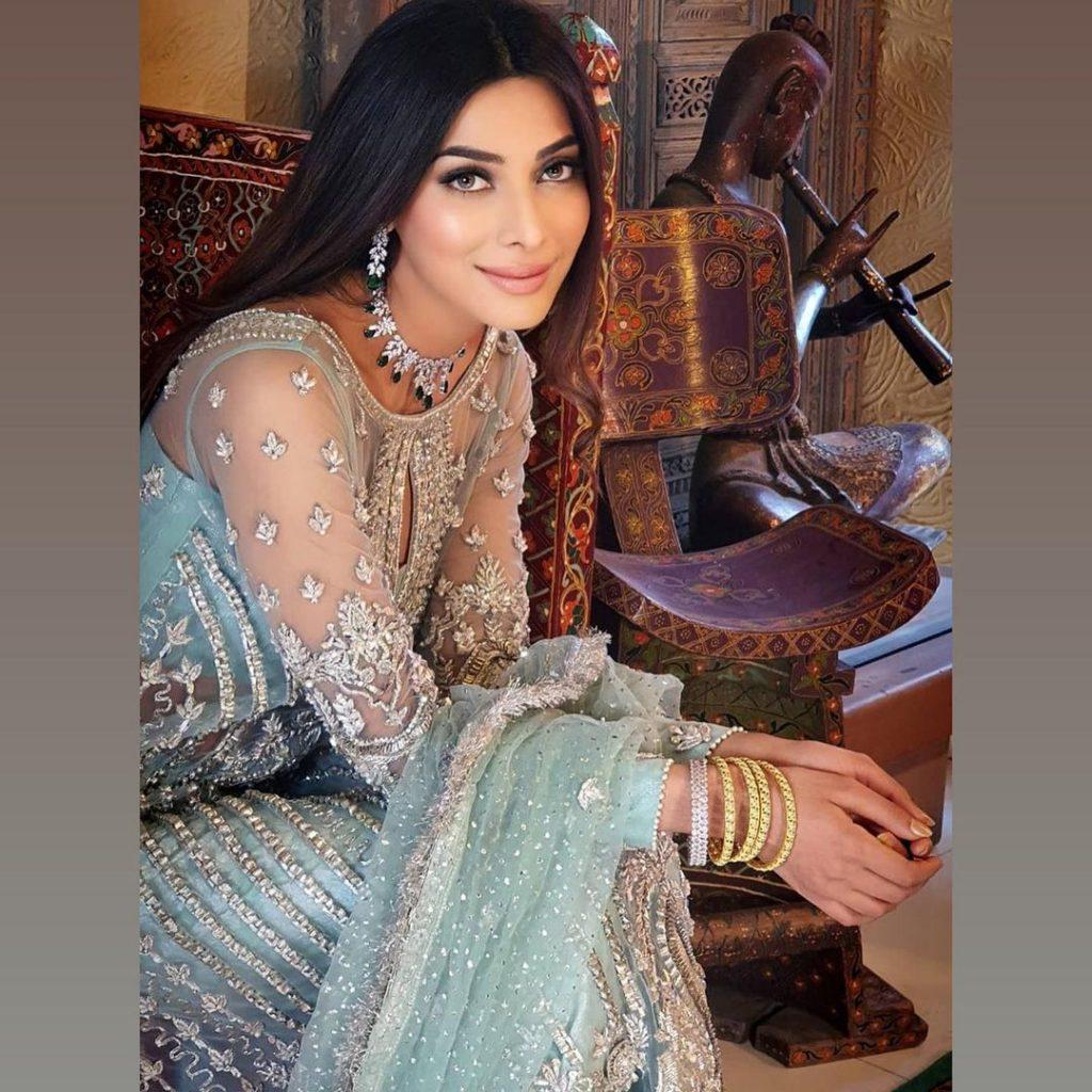 Latest Fashion Shoot Of Eshal Fayyaz