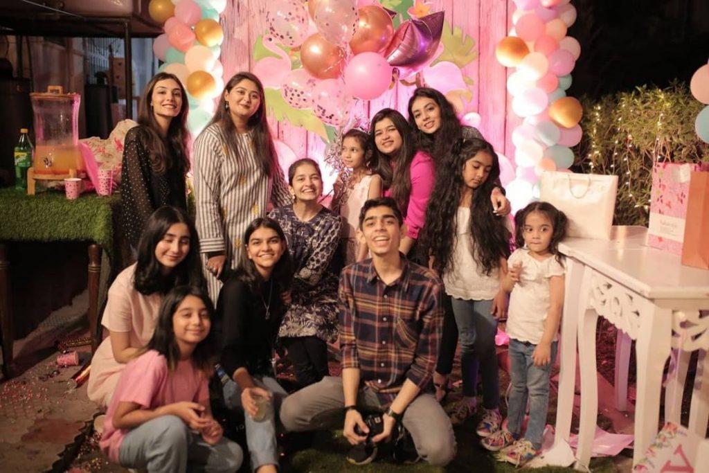 Fahad Mustafa's Daughter Fatima Celebrates Her 10th Birthday