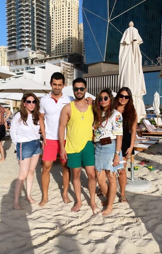 Hasan Rizvi Vacationing With Family In Dubai